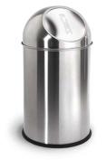 Blomus 68238 Stainless Steel Matt 9.8l Pushman Garbage Can