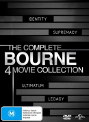 The Bourne Quadrilogy [Region 4]