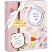 Disney Baby Photo Album Box Set, Pink, Disney Winnie The Pooh