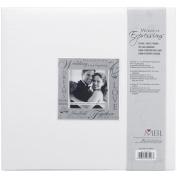Expressions Post Bound Album 30cm x 30cm -Wedding - White