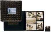 Raika Ni 113-D Blk Frame Front Scrap Book Album - Black