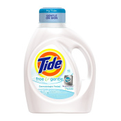 Tide Free and Gentle High Efficiency (Pack of 4)