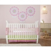 Triboro Flowers Crib Skirt