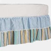 Living Textiles Bed Skirt Blue One Size