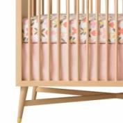DwellStudio Solid Pink Crib Skirt