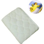 NoJo Coral Fleece Sheet Saver - Ivory