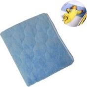 NoJo Coral Fleece Sheet Saver - Blue