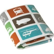 DwellStudio Transportation Multi Fitted Crib Sheet