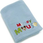 Crown Crafts NoJo Mickey's Transportation Coral Fleece Blanket