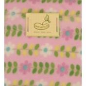 Pem America Micro Polar Blanket Pink Daisy