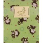Pem America Micro Polar Blanket Green Monkey