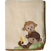 Bedtime Originals Curly Tails Plush Blanket - 76.2cm x 101.6cm