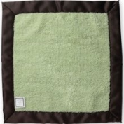 Swaddle Designs Baby Lovie Fuzzy Security Blanket - Lime