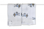 aden + anais 2 Pack Muslin Issie Security Blanket