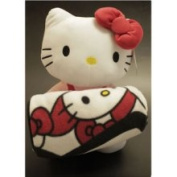 Hello Kitty Plush Doll & Blanket Set by Sanario Sanrio