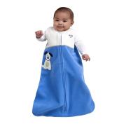 SleepSack Wearable Blanket Applique Micro-Fleece Blue Pup Pals Birth-6 months/Birth-6 months/4.54kg-18lb58.4cm /23-66cm