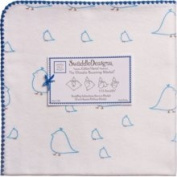 Swaddledesigns Swaddle Designs Ultimate Receiving Blanket Blue Chickies 106.7cm x 106.7cm