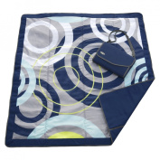 JJ Cole Essentials 5x5 Mat Blue Orbit Birth-and UP/Birth-and Up JEMBO
