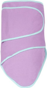 Miracle Blanket Swaddle, Purple with Mint Trim