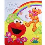 Sesame Street Elmo and Zoe Snuggle Blanket