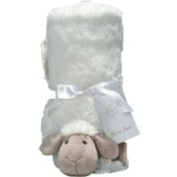 Allie The Sheep Stroller Blanket by Pickles - 80552