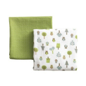 DwellStudio 2 Pack Muslin Swaddles