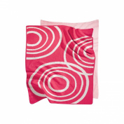 Nook Sleep Knitted Blanket with Ripple in Blossom