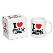 Paladone I Love Spreadsheets Mug