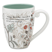 Mark My Words Happy Birthday Mug 12.1cm 500ml Capacity