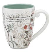 Mark My Words Happy Birthday Mug 12.1cm 500ml Capacity