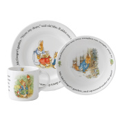 Wedgwood Peter Rabbit Original 3 Piece Set