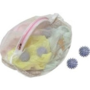 Innovative Home Creations Lingerie Bag with 2 Wash Balls