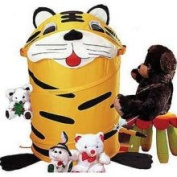Innovative Home Creations Animal Round Hamper Tiger