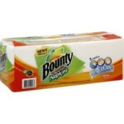 Bounty Napkins, Quilted, White, 1-Ply - 320 napkins