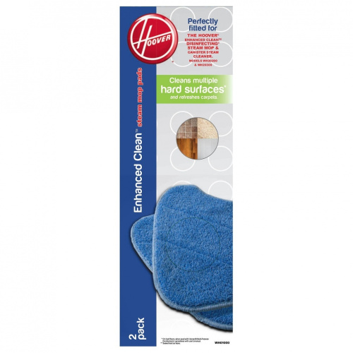 how to get steam mop pads clean