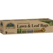 If You Care Lawn & Leaf Bags, Certified Compostable, 124.9l - 8 bags