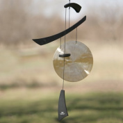 Woodstock Chimes EGCB Emperor Gong - Black Wind Chime