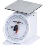 Decto Detecto Enamel Finish Rotating Dial 2.27kg. Portion Scale