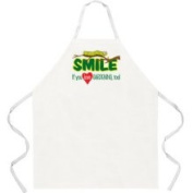Attitude Aprons by L.A. Imprints Smile If You Love Gardening Apron
