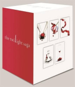 Twilight Saga 5 Book Set White Cover