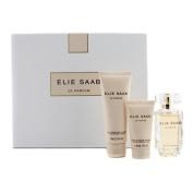 Le Parfum by Elie Saab 50ml Eau de Parfum Spray, 75ml Body Lotion & 30ml Shower Cream