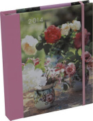 Peonies and Roses 2014 Engagement Calendar