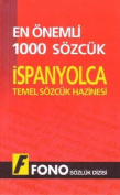 1000 Most Common Words Spanish-Turkish/Turkish-Spanish