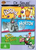 Dr Seuss Triple Pack - Horton Hears A Who,  The Lorax,  Best Of Dr Seuss [Region 4]