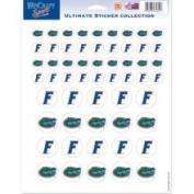 Florida Gators Official NCAA 22cm x 28cm Sticker Sheet Fla by Wincraft