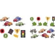 Borders Unlimited Fast Fun Wall Stickers Set BU0334