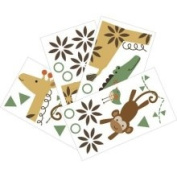 Lambs and Ivy Repositionable Children's Wall Stickers Timbuktu