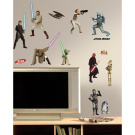 RoomMates F3816898 Star Wars Episodes 1-3 Wall Decals