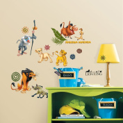 RoomMates AE5D06D9 The Lion King Peel & Stick Wall Decals