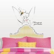 Disney Fairies Tinkerbell Headboard Giant Wall Decal